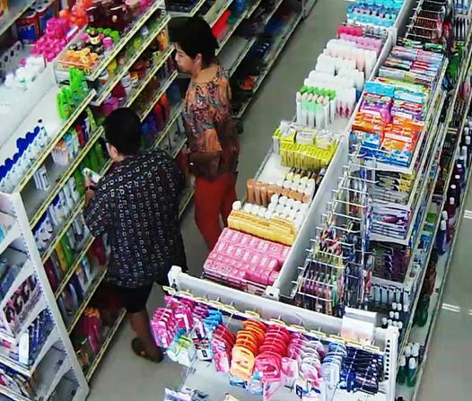 CCTV in supermarket